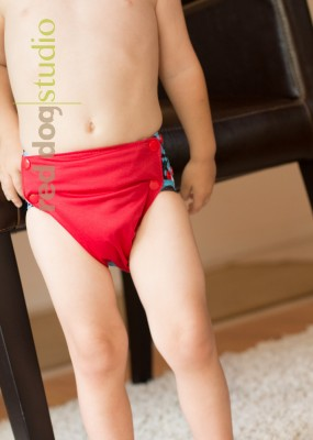 One Size Side Snap Diaper