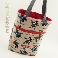 Zippered Kid's Tote