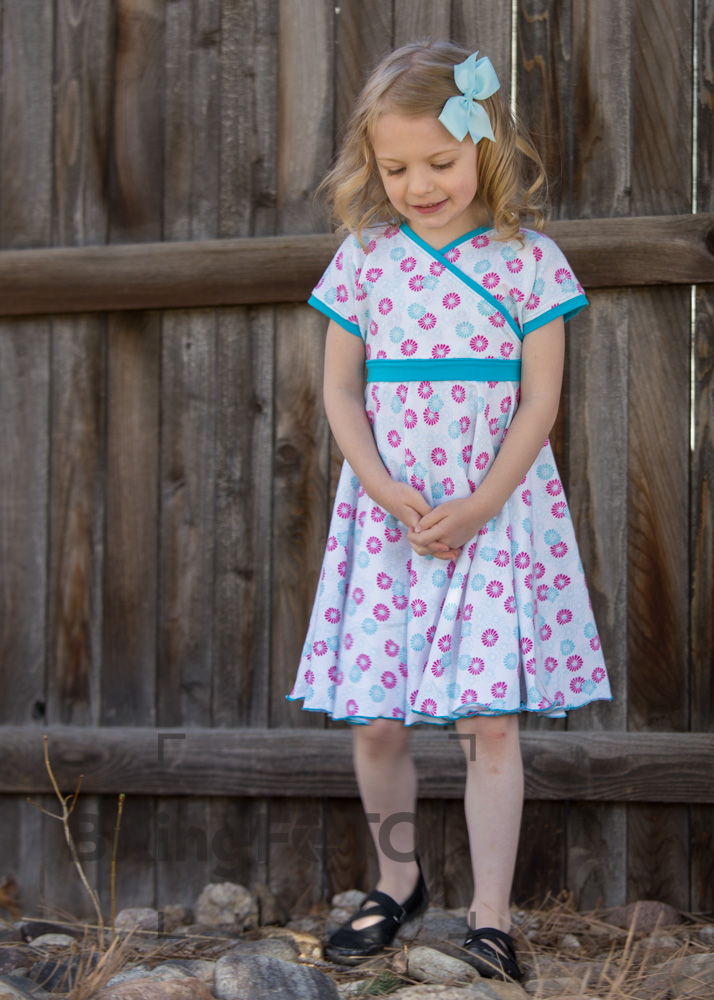 Pattern Review: A Sparkly Baby\'s Easy Peasy Crossover Dress   Red ...
